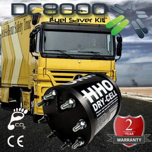 Kit HHO DC8000 pour Camions